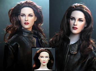 Vampire Bella Swan doll in Breaking Dawn part 2 by noeling