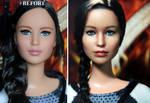 Hunger Games Katniss Everdeen custom doll by noeling