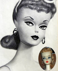 Very First Barbie Doll - 1959 by noeling