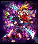 PASWG - Panty and Stocking Fan Art by Yumoe