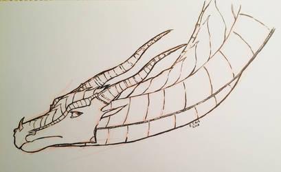 OC sketch: Moody Toad by EJ-Art