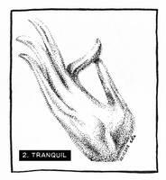 INKtober 2018 02 TRANQUIL by nackmu