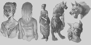 Werewolf by Whiksers