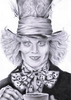 Mad Hatter - Johnny Depp by Tez-zah