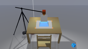 how to film a speed drawing, camera light, 3d ani by 8DFineArt