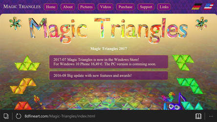 Magic Triangles 2017 by 8DFineArt
