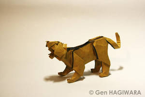 Origami Tiger by GEN-H