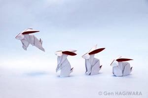 Origami Rabbit by GEN-H