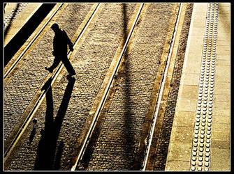I walk the line. by Treamus