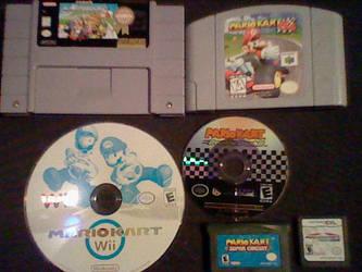 Mario Karts by mwctcc