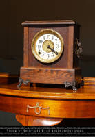Mantel Clock Stock1 by The-Average-Alex