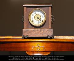 Mantel Clock Stock2 by The-Average-Alex