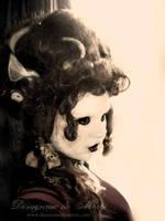 A Mme. Morte Cameo... by demonicademorte
