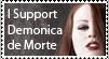dA Photo Boycott Stamp... by demonicademorte