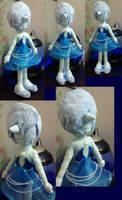 Blue Pearl Plush Doll by fokkusu1991