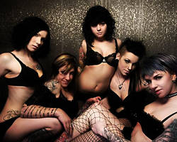 suicidegirls Lingerie by beto7605