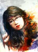 Portrait #4 by flutear