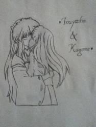 Inuyasha and Kagome by jaritza2005