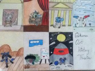 Pokemon Art History Timeline Part 2 by jaritza2005