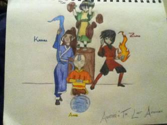 Avatar: The Last Airbender by jaritza2005