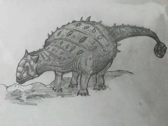 Ankylosaurus by Dinomorph5000
