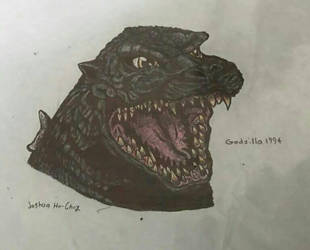 Godzilla 1994 by Dinomorph5000