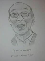 Haruo Nakajima by Dinomorph5000