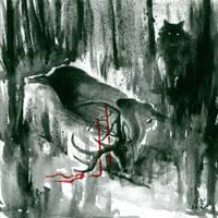 Black Snow IV by SunriseOnVenus