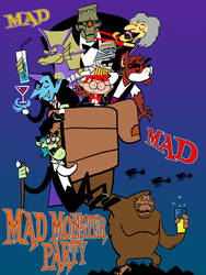 Mad Monster Party by TKrohne13