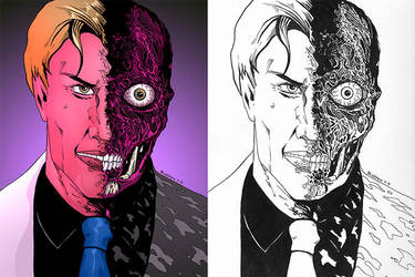 Twoface by Roderic-Rodriguez