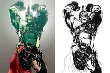 Thor:Ragnarok Fanart by Roderic-Rodriguez