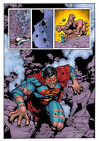 The Man of Steel color by Roderic-Rodriguez