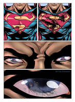 Superman Tryout 1 with color by Roderic-Rodriguez