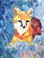 Fox by monkeypii
