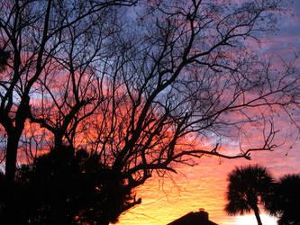 Sunset by lexxxii