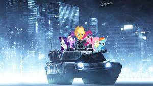 Ponies in a tank? by Vorstriem