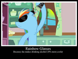 Rainbow Glasses by Vorstriem
