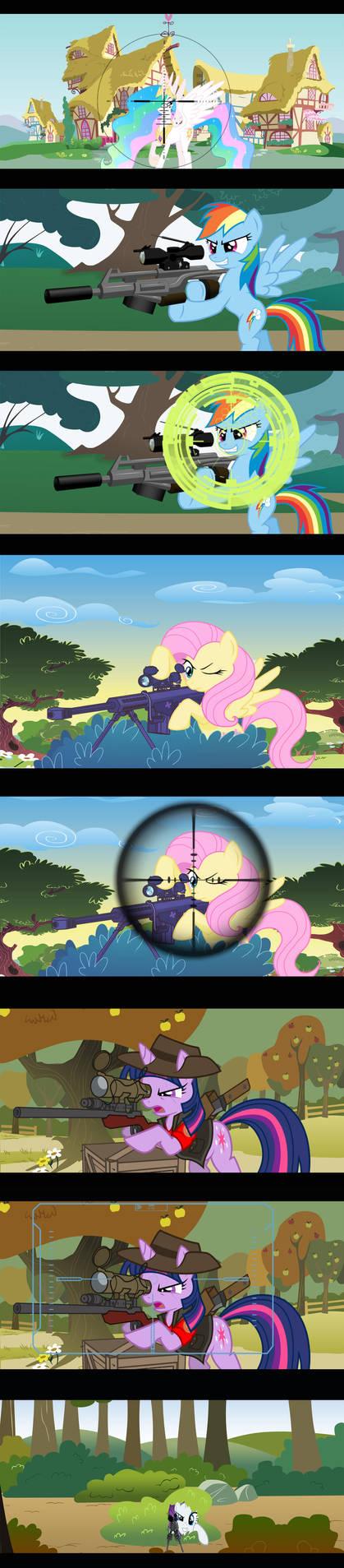Shooter on the Pony Knoll by Vorstriem