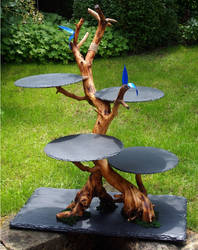 Wedding cake stand tree by p4ndor4TheBox