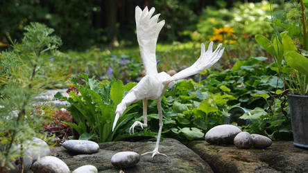 Origami: Dancing Crane (Robert J. Lang) by p4ndor4TheBox