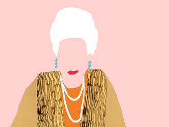 The Grand Budapest Hotel Minimalism-Madame D. by bel17b