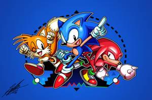 Sonic the Maniachog by ShockRabbit