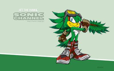 Commission BlazeTBW 2: Sonic Boom Jet Wallpaper by ShockRabbit