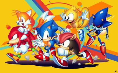 Sonic Mania Plus Hype by ShockRabbit