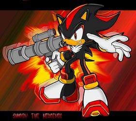 Shadow the hedgehog by ShockRabbit
