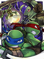 Turtle Power! by Tamago45