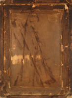 Back of old photography frame by wojtar-stock