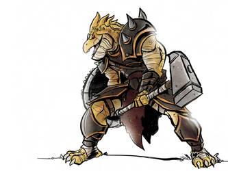 Dragon hammer by Honez