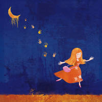 The Girl and the Moon by roweig