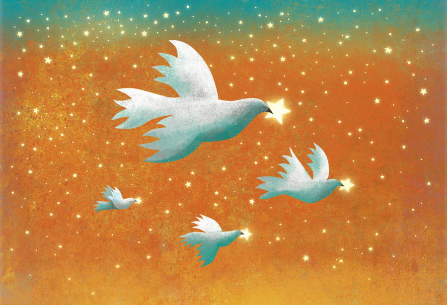 Flying for Peace 2 by roweig